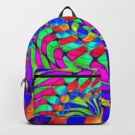 Tumbler #33 Trippy Psychedelic Optical Illusion Design by CAP Backpack