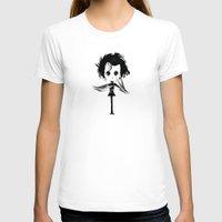 edward scissorhands T-shirts featuring EDWARD SCISSORHANDS by Raimondo Tafuri
