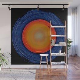 Circular Sunset Wall Mural
