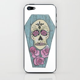 Day of the Dead Coffin iPhone Skin