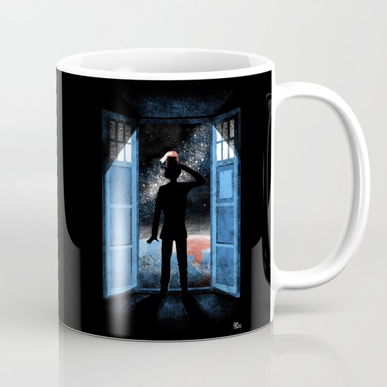 It's Bigger on the Outside Coffee Mug
