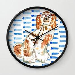 REDHEAD IN GLASSES Wall Clock