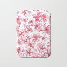 cherry blossoms Bath Mat