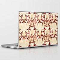 skyrim Laptop & iPad Skins featuring Celtic Loop White by Astrablink7