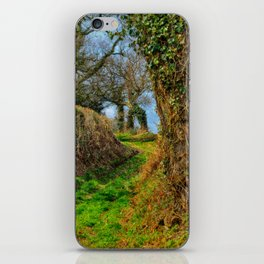 A Norfolk Country Lane iPhone Skin