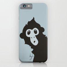 Spider Monkey - Peekaboo! iPhone 6 Slim Case