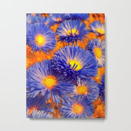 aster abstract Metal Print