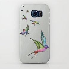 Swallows in Flight Slim Case Galaxy S6