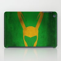 loki iPad Cases featuring Loki by Some_Designs