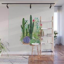 Cactus Garden Wall Mural