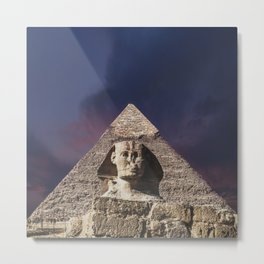The Sphinx Metal Print