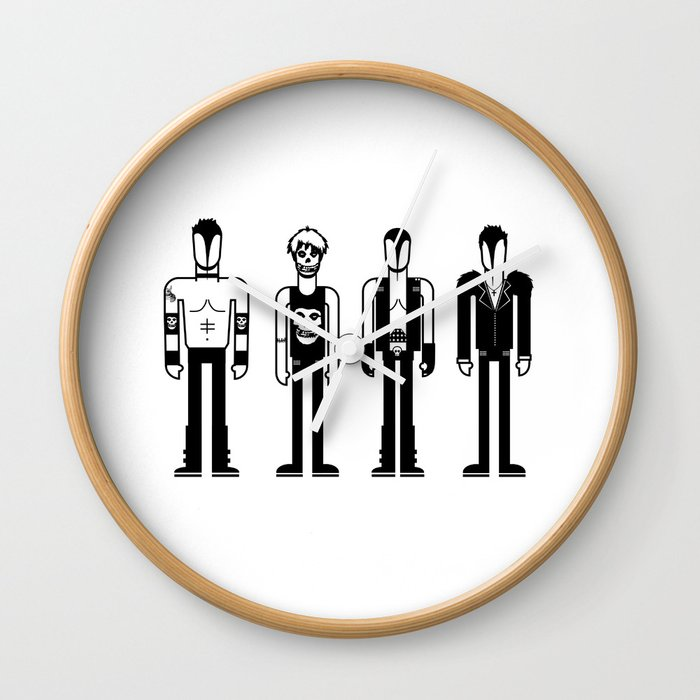 Misfits Wall Clock