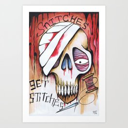 snitches Art Print