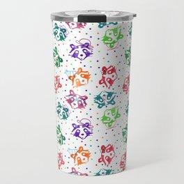 Party Raccoon Travel Mug