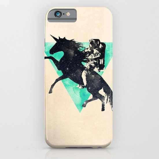 Ride the universe iPhone & iPod Case