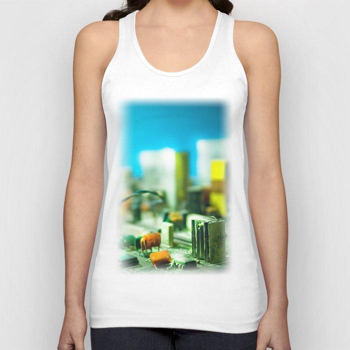 city Unisex Tank Top