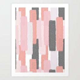 Rising #society6 #abstractart Art Print