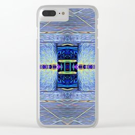 The Two Pillars Clear iPhone Case