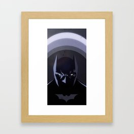 The hero Society6 deserves, but not the one it needs Framed Art Print