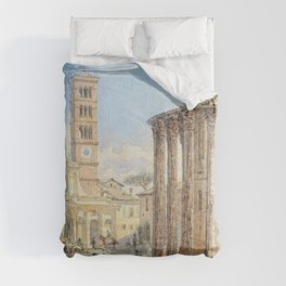 Franz Alt - Room, Forum Boarium - Digital Remastered Edition Comforters