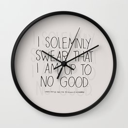 Harry Potter Quote #1 Wall Clock