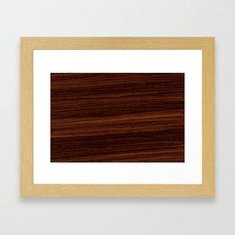 Modern Zebra Framed Art Print