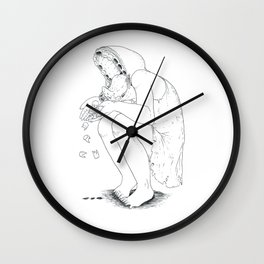 Nightmare tooth loss Wall Clock