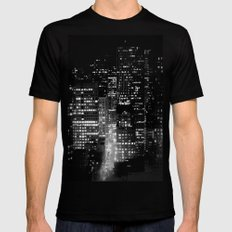 san francisco Black Mens Fitted Tee LARGE