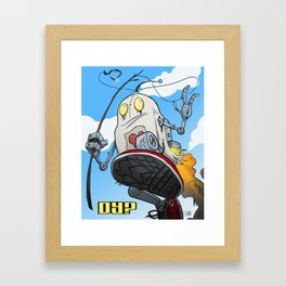 dY? Framed Art Print