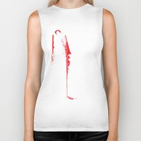 vampire diaries Biker Tanks featuring Vampire by Mr. And Mrs. Inky Hands
