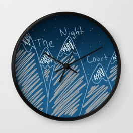 The Night Court Wall Clock
