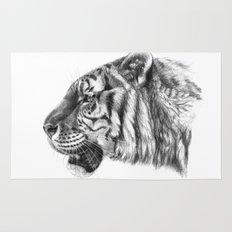 Tiger profile G077 Rug