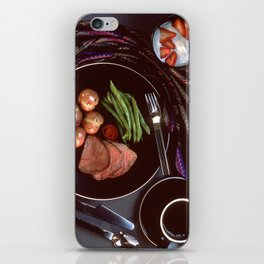 Healthy Dinner  iPhone Skin