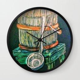 Old Oaken Wall Clock