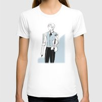 violin T-shirts featuring Violin by Cassandra Jean
