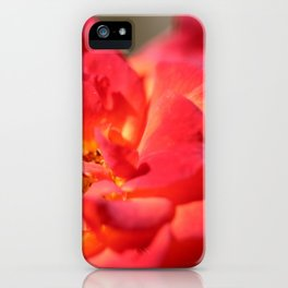 Bright Red Flower iPhone Case