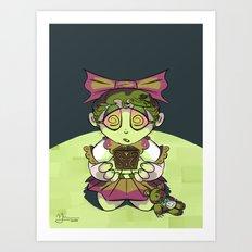 Vanessa and Her Nightmare Box Art Print