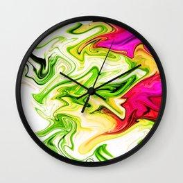 Sweeper Abstract Wall Clock