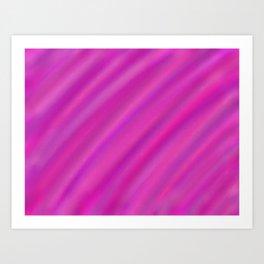 Pink and Purple Blur Art Print