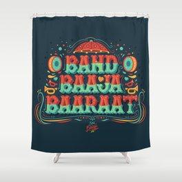 Band Baaja Baaraat Shower Curtain
