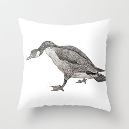 Sassy Goose Throw Pillow