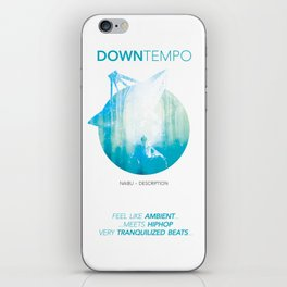 DOWNTEMPO iPhone Skin