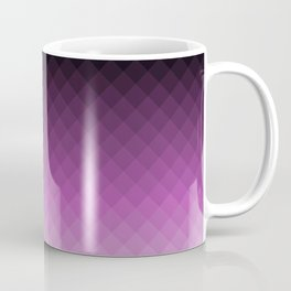 Ombre squares - Purple Coffee Mug