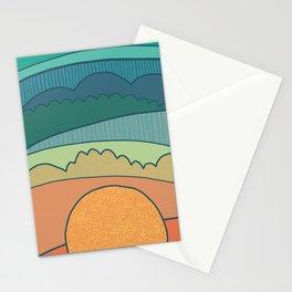 Evening Sun Stationery Cards