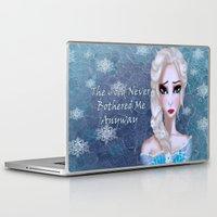 elsa Laptop & iPad Skins featuring Elsa by Cherishduhh