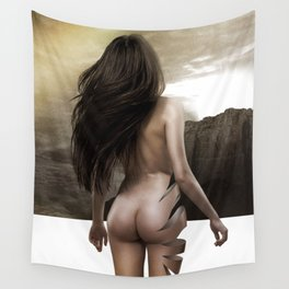 Nude Inside Wall Tapestry