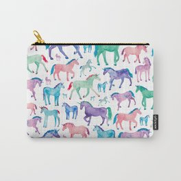 Pastel Unicorn Pattern Carry-All Pouch