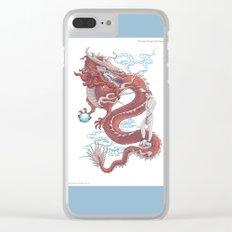 Treasure Dragon Clear iPhone Case