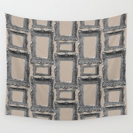 Antique Frame black and white #3 Wall Tapestry