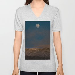 Colorado Moonrise Unisex V-Neck